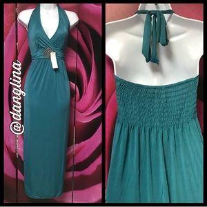 Lovely Surpliced maxi dress